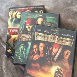 Other - Pirates of the Caribbean DVD Collection: 1-3